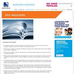 Magazine Advertising