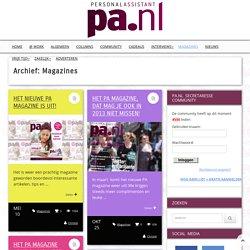Magazines - secretaresse magazine & community - pa.nl
