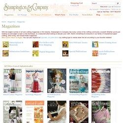 Magazines - Stampington
