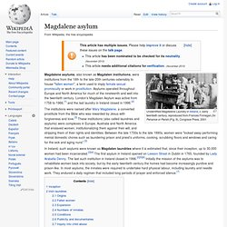 Magdalene asylum