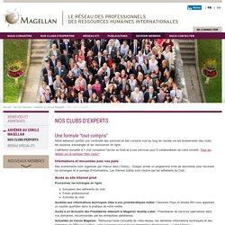 Magellan network: Nos clubs d'experts