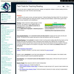 MagellanTech4U - Tech Tools for Teaching Reading