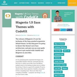 Magento 1.9 Sass Themes with CodeKit
