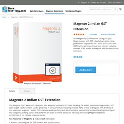 Magento 2 Indian GST Extension