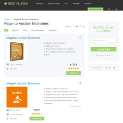 7 Best Magento Auction Extensions - Best Plugins