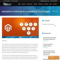 Magento: Popular E-Commerce Platforms