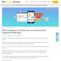 PWA in Magento 2.3: Power Your E-commerce with Progressive Web Apps