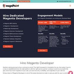 Hire Magento Developer in India