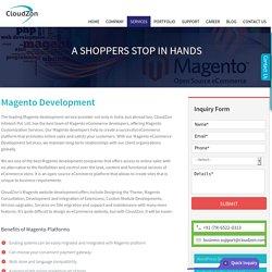 Magento, Magento Web, Magento Website - Development