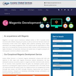 Magento Development Company in Canada @ Auxano Global Services