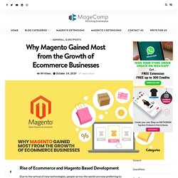 Why Magento Gained Most from the Growth of Ecommerce Businesses