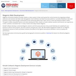 Rishabh Software Online store solution