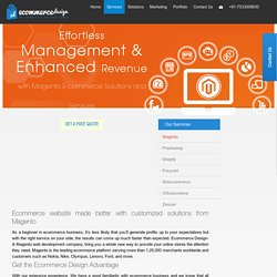 Magento web development company India