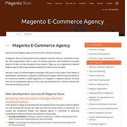 Magento Ecommerce Web Development Agency India