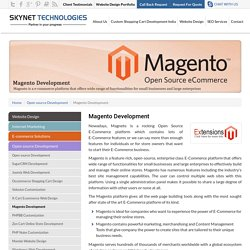 Custom Magento Development