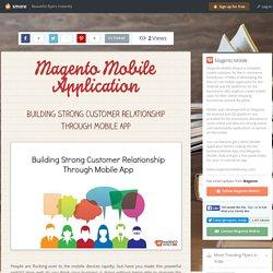 Ecommerce Magento Mobile App