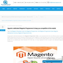 Hire Magento Programmer India