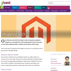 Magento SEO - The Definitive Guide