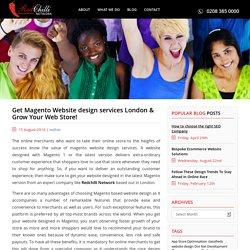 Magento Website design services London