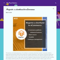 Magento: a shorthand to eCommerce