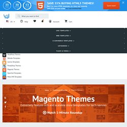 Magento Themes | Template Monster