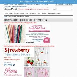 Daisy Motif - Free Crochet Pattern
