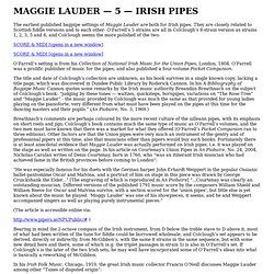 Maggie Lauder - Irish Pipes