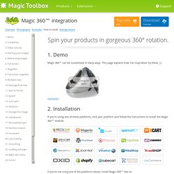 Magic 360 integration