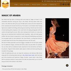 Magic Of Arabia - DESERT SAFARI