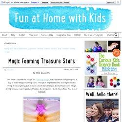 Magic Foaming Treasure Stars