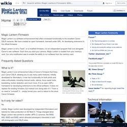 Magic Lantern Firmware Wiki