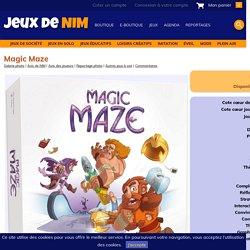Magic Maze: jeu de société chez Jeux de NIM