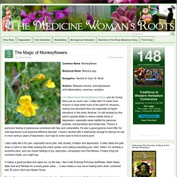 The Magic of Monkeyflowers » The Medicine Woman's Roots