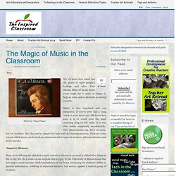 The Magic of Music in the Classroom