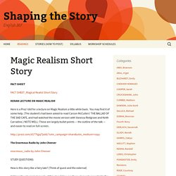 Magic Realism Short Story