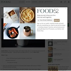 Magic Shell recipe on Food52