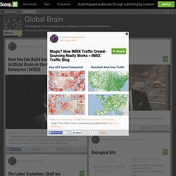 Magic? How INRIX Traffic Crowd-Sourcing Really Works » INRIX Traffic Blog | Global Brain