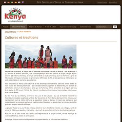 Cultures et traditions