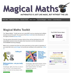 Magical Maths Toolkit