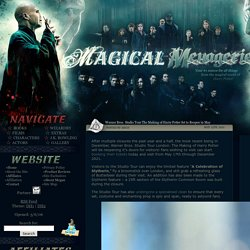 »» Magical Menagerie: A Harry Potter Fan Site