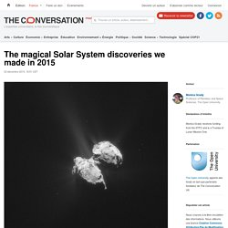 The magical Solar System discoveries we made in 2015