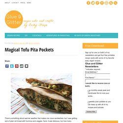 Magical Tofu Pita Pockets