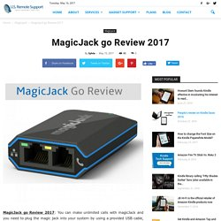 MagicJack go Review 2017