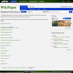 Magickal Athenaeum - WikiPagan