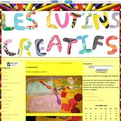 Sable magique maison - Les Lutins Créatifs, bricolage pour enfants.