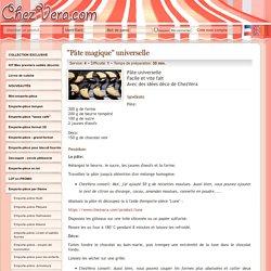 """Pâte magique"" universelle - ChezVera.com"