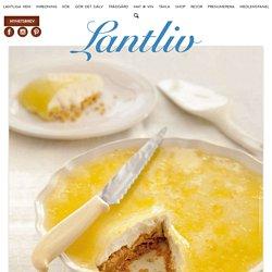 Magiskt god cheesecake med citron och vanilj