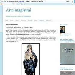 Arte magistral: Inmaculada del facistol, de Alonso Cano
