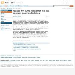 France-Un autre magistrat mis en examen pour les fadettes