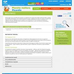 Métier : magistrat(e) - Planète métiers Picardie - l'orientation en ligne en Picardie